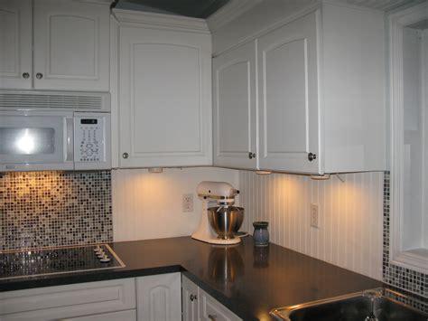 beadboard kitchen backsplash white beadboard and tile backsplash for the home