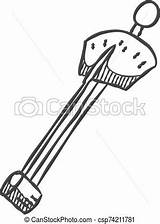 Icon Sketch Vector Torque Wrench Illustration Drawn Hand sketch template