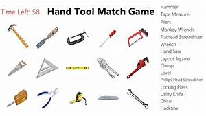 Hand Tools Match Game for Windows 8 and 8 1