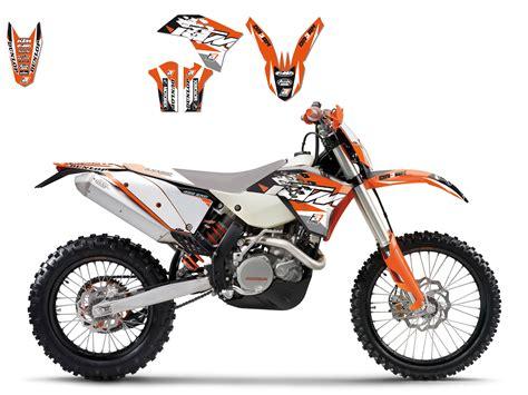 kit deco complet ktm exc excf125 et plus 2008 2011