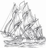 Coloring Pages Adult Ships Rigged Ship Adults Sailing Da Colorare Sheets Outline Tall Printable Coloringpagesforadult Barca Wood Drawings Disegni Designlooter sketch template