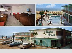Palm Crest Apartment Motel Myrtle Beach SC Ocean Front