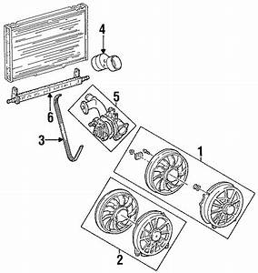 Ford Taurus Fan Assembly Insulator  3 0 Liter Dohc  3 0