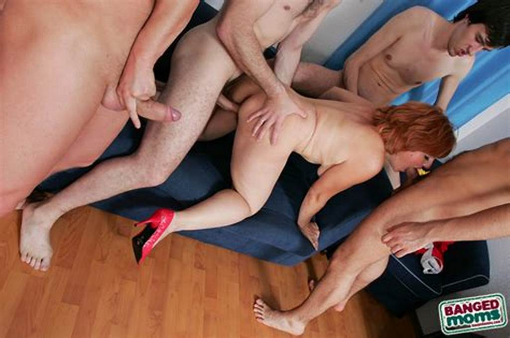 #Chubby #Redhead #Milf #Shows #Her #Wet #Hairy #Muff #And #Gets