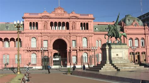 Once Building In Buenos Aires Arg by National Congress Buenos Aires Arg In The Morning