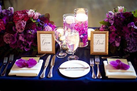 Navy Blue Table Cloth, Candle Centerpieces, Shades Of