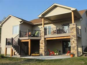 Elevated Deck Designs Inspirations And Ideas Image Of