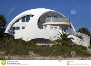 architecture unusual dome shape beach house royalty free stock image image 35852376