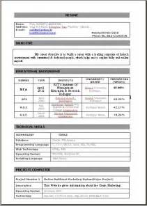 cover letter for resume sle for freshers resume with cover letter for fresher