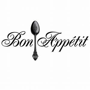 3d vinyl lettering bon appetit 3d spoon other home for 3d vinyl letters