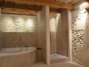 idee deco salle de bain 4 indogate salle de bain With carrelage adhesif salle de bain avec ruban led 2m50