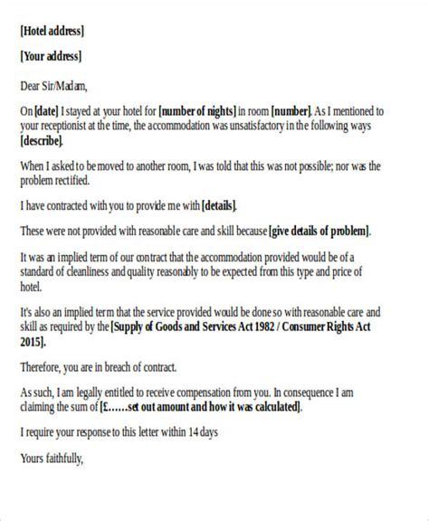 complaint letter templates word google docs apple