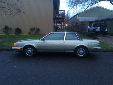 1986 Buick Century by Curbside Classic 1986 Buick Century Limited Two Door