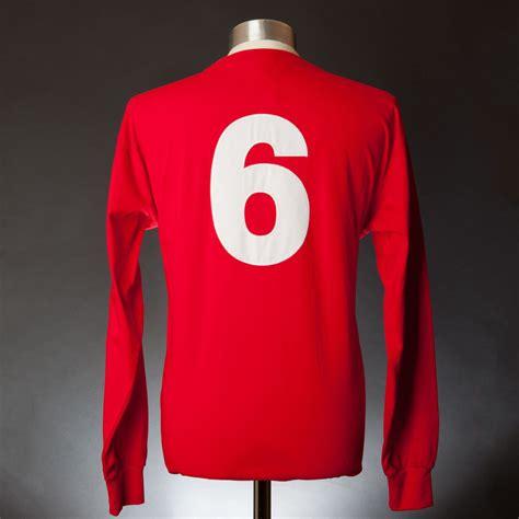 england 1966 world cup final no 6 replica shirt nfm