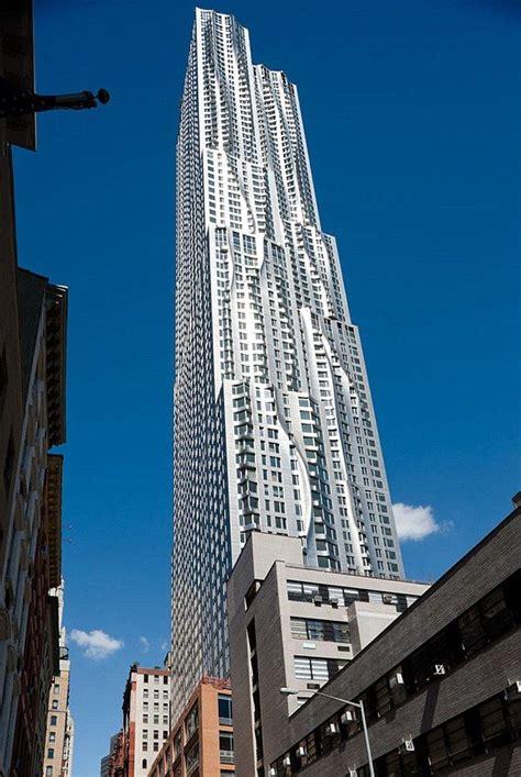 beekman tower new york frank gehry edificios altos arquitectura arquitectura moderna y