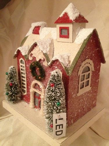 led lights for christmas village houses pinterest discover and save creative ideas
