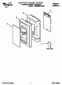 Whirlpool Microwave Hood Combination Parts