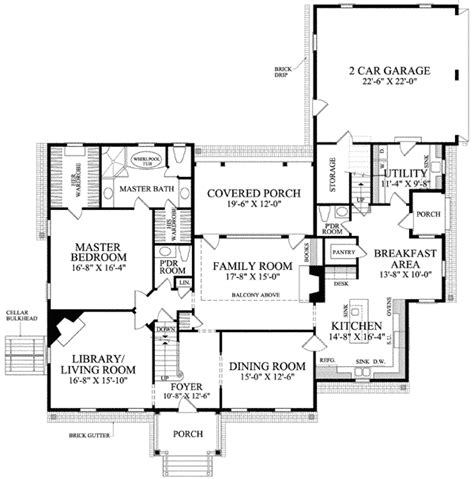 center colonial house plans center colonial 32510wp 1st floor master suite