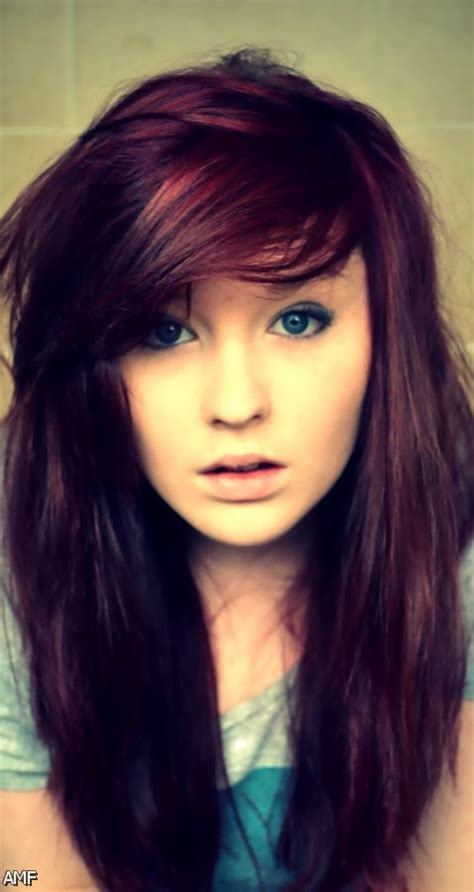 Dark Brown Red Violet Hair Color Shopping Guide We Are