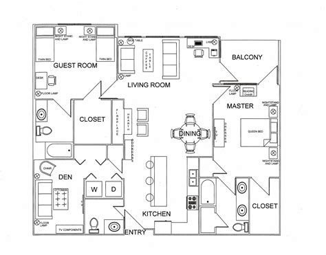 Floor Plan Furniture Planner  Homes Floor Plans