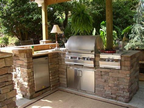 dur du si e d al ia barbecue fixe fonctionnel et esthétique dans le jardin moderne