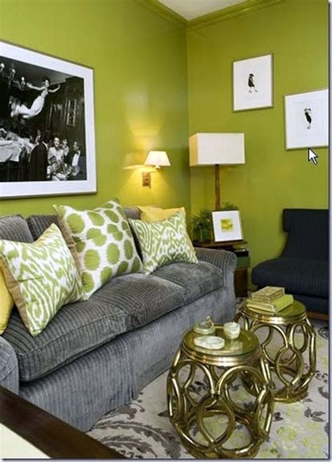 Green And Grey Living Room Walls by 18 Lovely Grey And Green Living Room Ideas