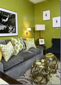 18 lovely grey and green living room ideas for Green and gray living room