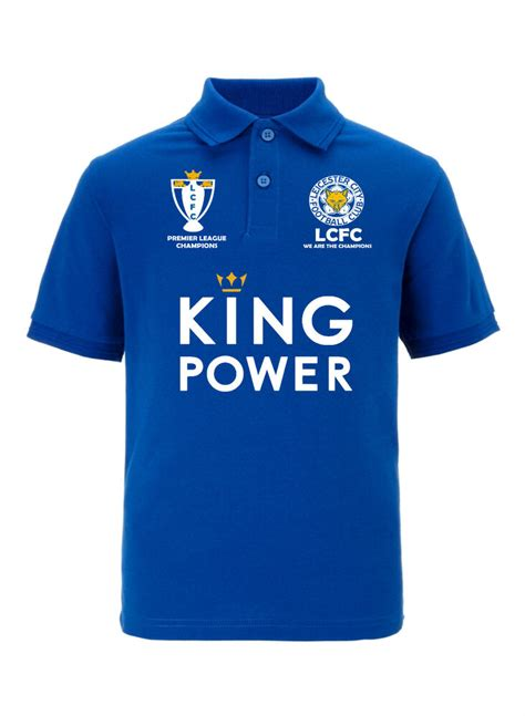 leicester city premier league chions 2015 2016 polo tshirt free post uk ebay
