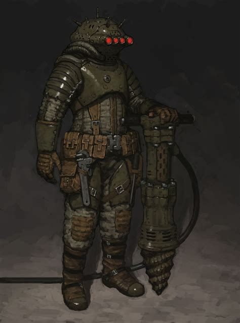 Space Miner by ariel perez   Sci-Fi   2D   CGSociety ...