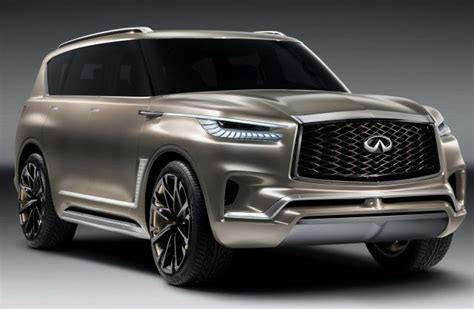 2019 Infiniti Qx80 Will Get Redesigned Body And New