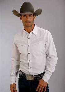 Stetson Men 39 S Duck Solid White Shirt