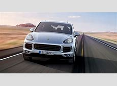 2017 Porsche Cayenne pricing and specifications More
