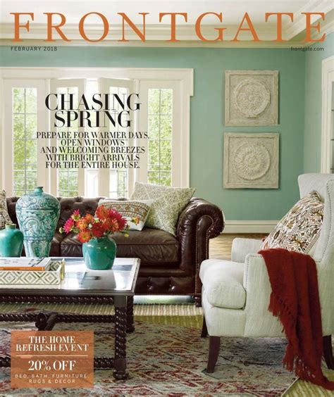 home decor catalog how to request a free frontgate catalog