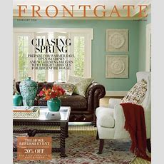How To Request A Free Frontgate Catalog