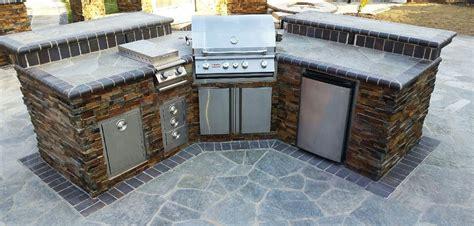pre fabricated  custom  outdoor grill island