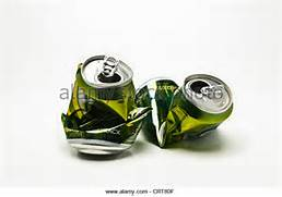 Empty Beer Cans Stock Photos   Empty Beer Cans Stock Images - Alamy  Crushed Beer Can