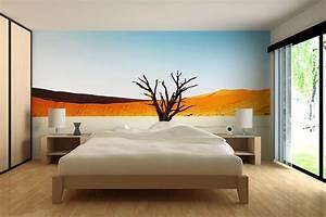 Papier Peint Chambre À Coucher : papier peint des astuces pour faire le bon choix pour votre chambre ~ Nature-et-papiers.com Idées de Décoration