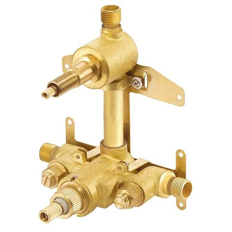 shower valves danze 2 handle 1 2 in thermostatic shower valve with