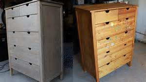 how to refinish kitchen cabinets furniture refinishing before and after photos 7327