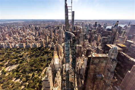 heres    nycs tallest residential building  central park tower luxurylaunches