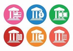 Bank Icon Vectors - Download Free Vector Art, Stock ...