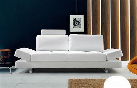 salon canap blanc le canapé design italien en 80 photos pour relooker le salon