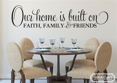 fetco home decor wall art awesome faith family friends