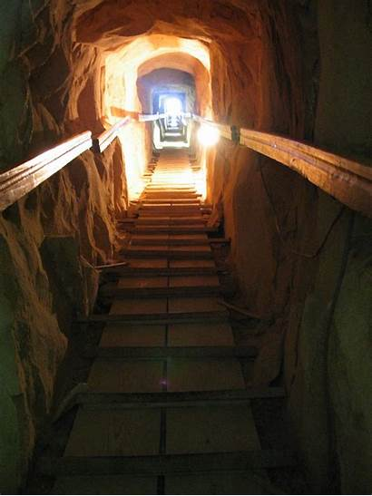 Pyramid Meidum Egypt Entrance Inside Passageway Pyramids
