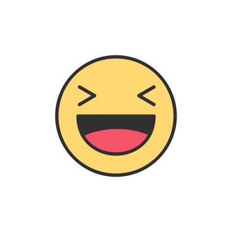 facebook emoji reaction laughing emoji icon