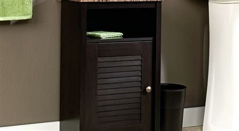 12 Awesome Bathroom Floor Cabinet With Doors