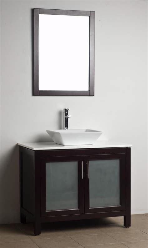 Bathroom Vanity Solid Wood Espresso Wh09085