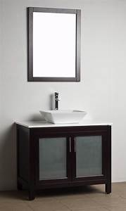 bathroom vanity solid wood espresso wh 0908 5 With solid wood vanities for bathrooms