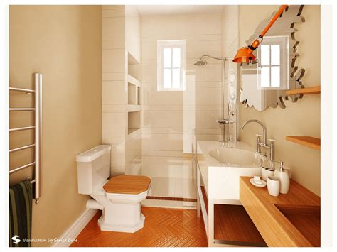 Bathroom Designs 2013 by Luxurious Small Wooden Bathroom