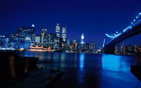 light the night nyc nightlife new york usa wallpapers and images